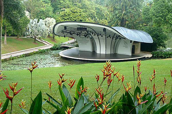 Vườn Batanic Singapore địa danh với các loài hoa vô cùng quí hiếm